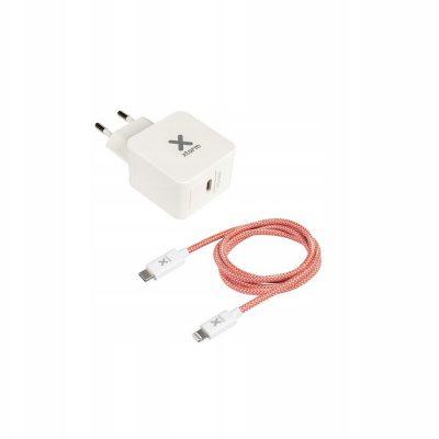 Xtorm Ac Adapter Usb-c Pd 18W + Usb-c Lightning