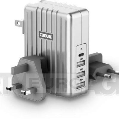Zendure ładowarka 4x USB srebrny 31,90 zł