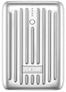 Zendure Powerbank Super Mini 10000 mAh Srebrny