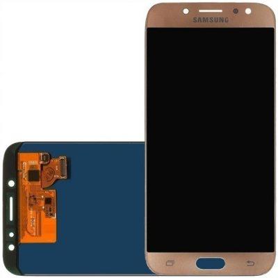Złoty Wyświetlacz LCD Samsung J7 J730 J730F 2017