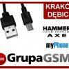 eXtreme Style KABEL USB długi wtyk do Evolveo STRONGPHONE Q6 Q4 D2 RAPTOR PREDATOR GLADIATOR RG200 RG300 RG250 RG400 ACCU miucrousb_long