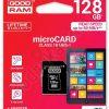 Goodram Micro SDXC 128GB class 10 +adapter