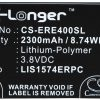 Sony Ericsson Xperia E4 / 1288-1798 2300mAh 8.74Wh Li-Polymer 3.8V (Cameron Sino (CS-ERE400SL)
