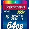 Transcend SDXC Class 10 UHS-I 64GB (TS64GSDU1)