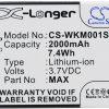 Wiko Rainbow 4G WAX 2000mAh 7.40Wh Li-Ion 3.7V Cameron Sino) CS-WKM001SL